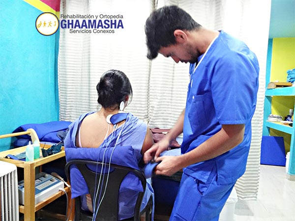 Rehabilitación con Electroterapia